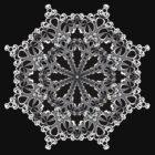 Mandala Circle : Decorative B&W Design by webgrrl