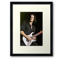 Chris Broderick of Megadeth Framed Print