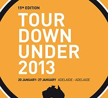 MY TOUR DOWN UNDER MINIMAL POSTER by Chungkong