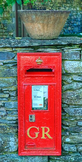 George V Postbox by VoluntaryRanger