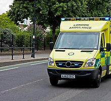 Emergency Ambulance by Sue Robinson