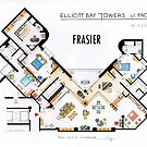 Frasier Apartment Floorplan by Iaki Aliste Lizarralde