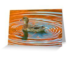 Duckcentric Greeting Card