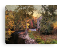 The Stone Mill Canvas Print