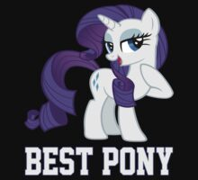 Rarity is Best Pony by Gqualizza