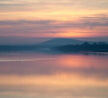 Misty Sunset by Adrian McGlynn