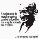 Animal Rights Mahatma Gandha by T-ShirtsGifts