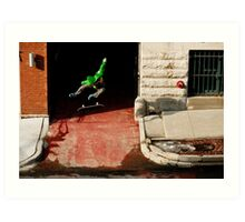 Neen Williams- Kick Flip- photo Ely Phillips Art Print