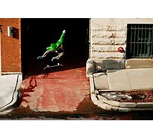 Neen Williams- Kick Flip- photo Ely Phillips Photographic Print