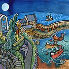 New Moon, New Quay by Dorian Davies