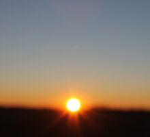 Sunset on the Prairies by AlexisJewell