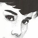 Audrey Hepburn by Anthony McCracken
