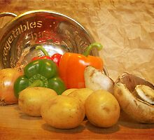 Cascading Vegetables by Sarah Couzens