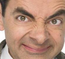 Mr Bean Sticker