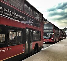 London Buses by imthemutznutz