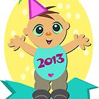 Happy 2013 Baby! by TheBluePlanet