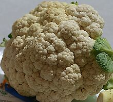 Blue-Ribbon Cauliflower by Monnie Ryan