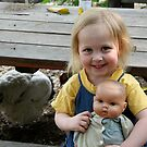 Bridie at the farm by Maggie Hegarty