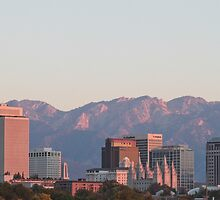 Salt Lake City Skyline by Kel-Z
