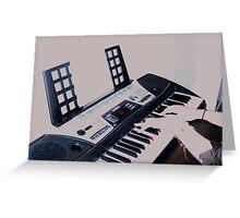 keyboard Greeting Card