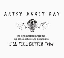 Artsy Angst Day by Glendon Mellow