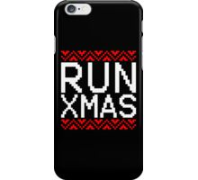 RUN XMAS iPhone Case/Skin