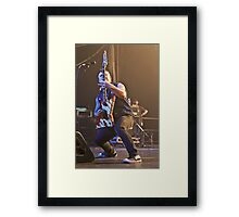 Dan Jacobs of Atreyu Framed Print
