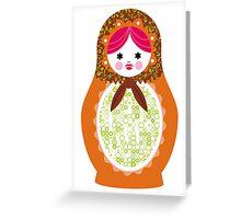 matrioshka (6) Greeting Card