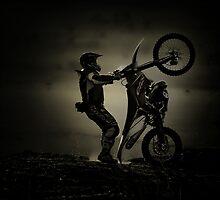 En una rueda.... by Mindor