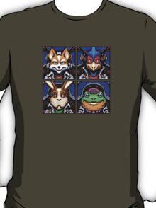 Fox, Peppy, Falco & Slippy T-Shirt