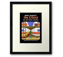 The Stacks Framed Print