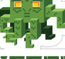 Minecraftian Sticker