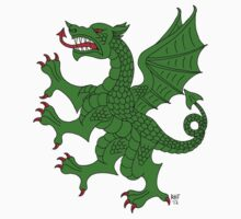 Dragon Rampant (Green) by RHFay