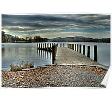Coniston Water HDR Poster