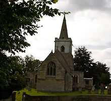 English Village Church in Cambridgeshire by badgercards