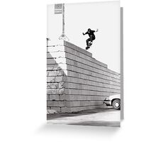 JUB-mega drop in Chicago by Andrew Hutchison Greeting Card