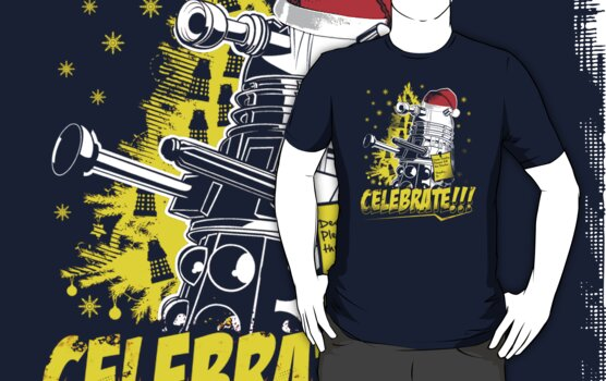 Merry Christmas and a Dalek New Year by Lynn Lamour