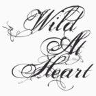 Wild At Heart tee by Vana Shipton