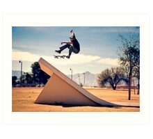 Ray Barbee - 360 Flip - Arizona - Photo Aaron Smith Art Print