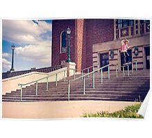Dan Lutheran - 50-50 - Kansas City - Photo Aaron Smith Poster