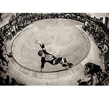 Christian Hosoi - Layback Smith Grind - New York - Photo Aaron Smith Photographic Print