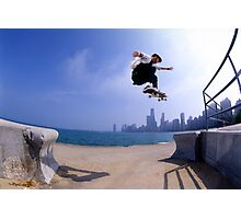 Patrick Melcher-Chicago photo by Andrew Hutchison Photographic Print