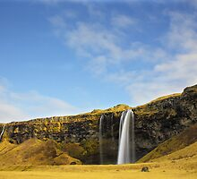 Seljalandsfoss Waterfall Iceland by MishoJx