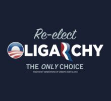 Reelct Oligarchy 2012 by LibertyManiacs