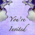 Party Invitation - General - Wild Iris - Blue Flag by MotherNature