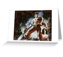 Army of Darkness Greeting Card