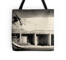 Jason Dill backside ollie by Sam Muller Tote Bag