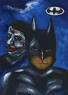 Batman and The Joker by Alga Washington