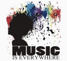 MUSIC IS EVERYWHERE by yosi cupano