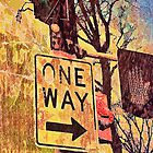 One Way iPhone case by susan stone